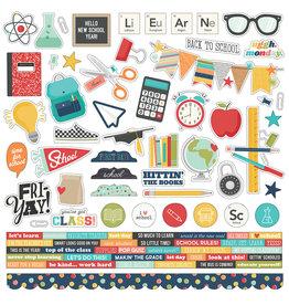 simple stories School Life - Cardstock Sticker