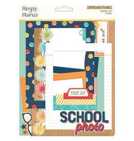 simple stories School Life - Chipboard Frames