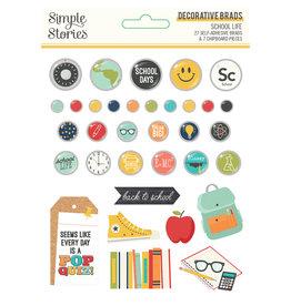 simple stories School Life - Decorative Brads