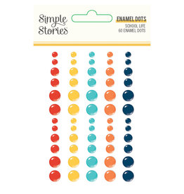 simple stories School Life - Enamel Dots