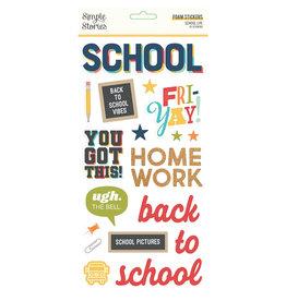 simple stories School Life - Foam Stickers