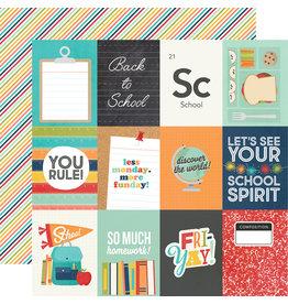 simple stories School Life Paper - 3x4 Elements