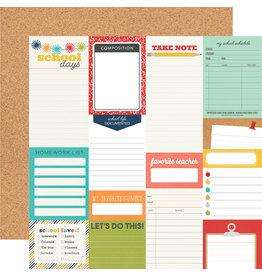 simple stories School Life Paper - Journal Elements
