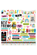 Photoplay Birds of a Feather: Element Sticker