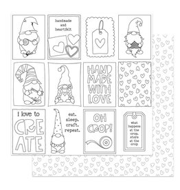 Photoplay Crafting With My Gnomies Paper:  Color Me Cards