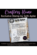 Impression Obsession Seth Apter Stamp: Abracadabra