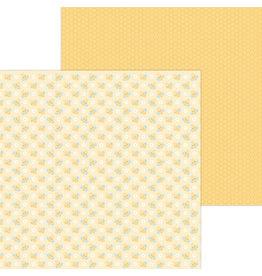 DOODLEBUG bee happy double-sided cardstock