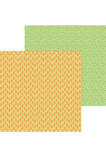 DOODLEBUG baby carrots double-sided cardstock