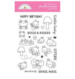 DOODLEBUG bugs & kisses doodle stamps