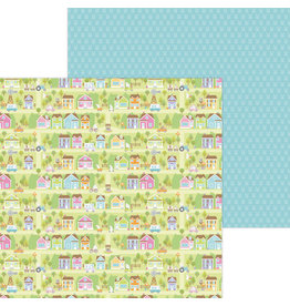 DOODLEBUG bunny town double-sided cardstock