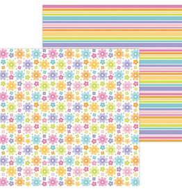 DOODLEBUG fairy floral double-sided cardstock