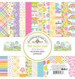DOODLEBUG fairy garden 6x6 paper pad