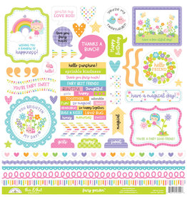 DOODLEBUG fairy garden this & that stickers