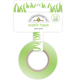 DOODLEBUG green grass washi tape