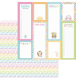 DOODLEBUG happy easter double-sided cardstock