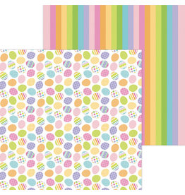 DOODLEBUG hunting eggs double-sided cardstock