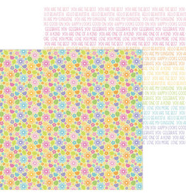 DOODLEBUG magical meadow double-sided cardstock