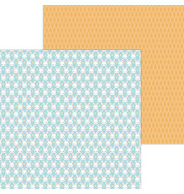 DOODLEBUG mr. cottontail double-sided cardstock