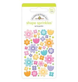DOODLEBUG spring garden shape sprinkles
