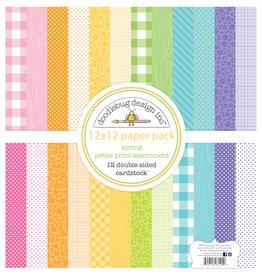 DOODLEBUG spring petite print assortment pack
