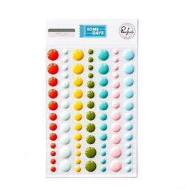 Pink Fresh Enamel Dots: Some Days