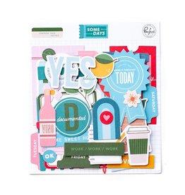 Pink Fresh Some Days Ephemera Pack