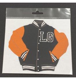 scrapbook customs PRE-ORDER LGHS School Pride Letterman Jacket