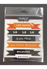scrapbook customs PRE-ORDER LGHS School Sticker Banners