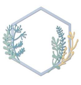 sizzix Botanical Frame by Jen Long
