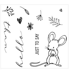 sizzix Hello Mouse Framelits
