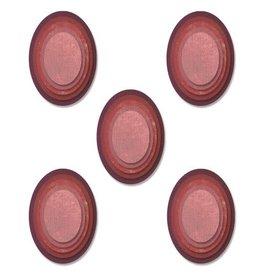 sizzix Stacked Tiles OvalsFramelits