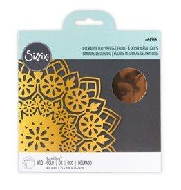 sizzix Effectz Foil Sheets: Gold