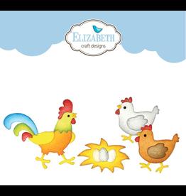 Elizabeth Crafts hen and rooster die
