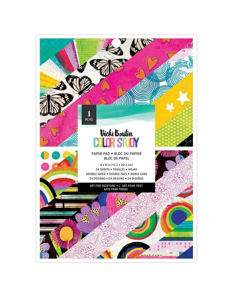 american crafts Color Story: Paper Pad 6x8