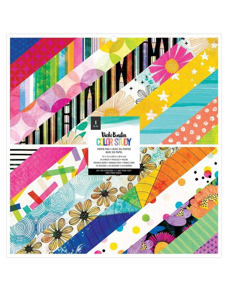american crafts Color Study 12x12 Pad