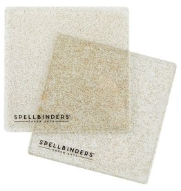 spellbinders 6x6 Glitter Cuttig Plates