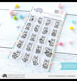 Mama elephant Little Kangaroo Agenda Stamp