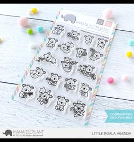 Mama elephant Little Koala Agenda Stamp