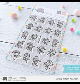 Mama elephant Little Ninja Agenda Stamp