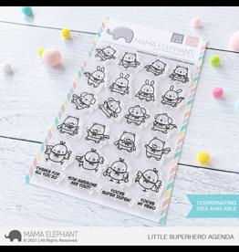 Mama elephant LIttle Superhero Agenda Stamp