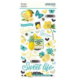 simple stories Simple Vintage Lemon Twist - 6x12 Chipboard