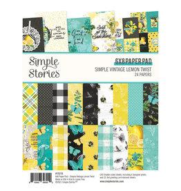 simple stories Simple Vintage Lemon Twist - 6x8 Pad