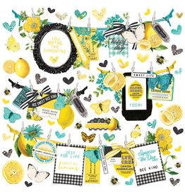 simple stories Simple Vintage Lemon Twist - Banner Sticker