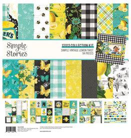 simple stories Simple Vintage Lemon Twist - Collection Kit