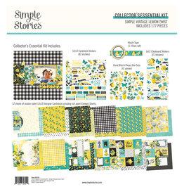 simple stories Simple Vintage Lemon Twist - Collector's Essential Kit