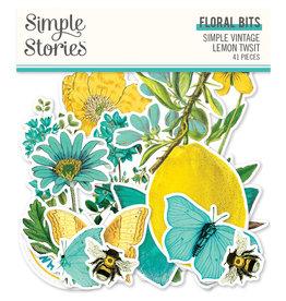 simple stories Simple Vintage Lemon Twist - Floral Bits & Pieces