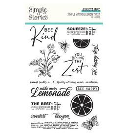 simple stories Simple Vintage Lemon Twist - Stamps