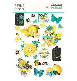 simple stories Simple Vintage Lemon Twist - Sticker Book