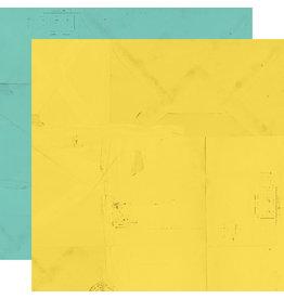 simple stories Simple Vintage Lemon Twist Paper - Sunshine/Ocean
