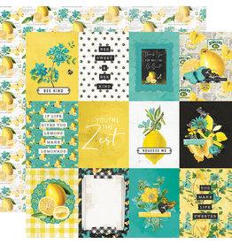 simple stories Simple Vintage Lemon Twist Paper- 3x4 Elements